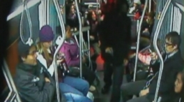 Passengers on a Seattle fought back, tackling gunman who demanded their phones.