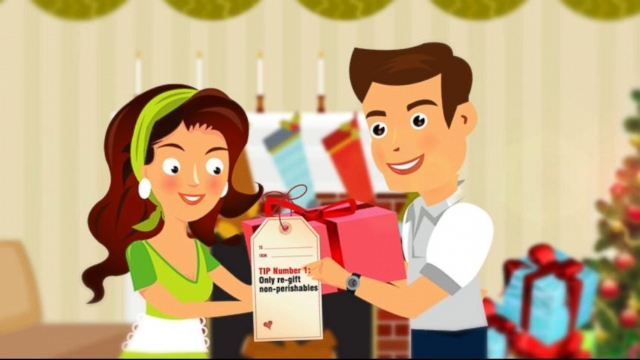 VIDEO: Some gifts may not be worth keeping but is it ever ok to pass them along?