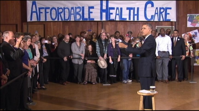VIDEO: Over one million people who have enrolled for health insurance can start using it January 1, 2014.