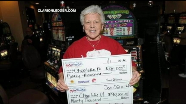 VIDEO: Woman Hits Two $90K Slot Jackpots
