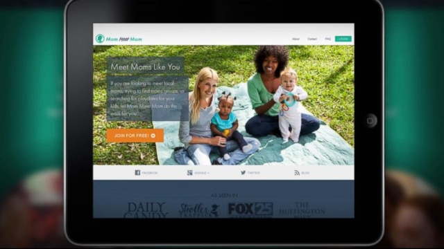 VIDEO: This new matchmaking website helps moms share tips and arrange play dates.