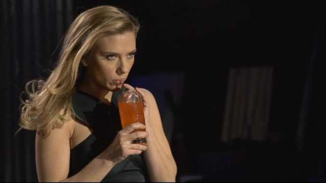 Scarlett Johanssons Bubbly Super Bowl Ad