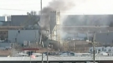VIDEO: Investigators dont know what caused the sudden explosion at feed processing plant.
