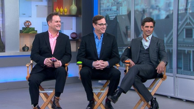 Men of Full House Reunite Before Super Bowl Ad Debut