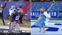 Kate Upton gets in on Super Bowl Madness