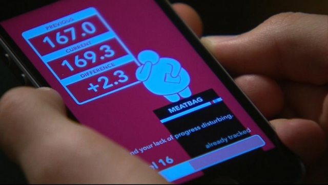 VIDEO: The new app uses insults as motivation to help users lose weight.