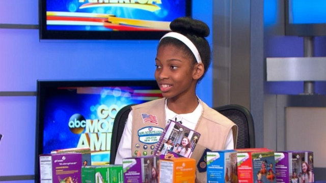 VIDEO: National Girl Scout Cookie Weekend kicks off this Friday with 2 new flavors.