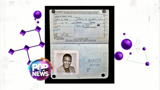 GMA VIDEO: Marvin Gayes Passport Found at Estate Sale