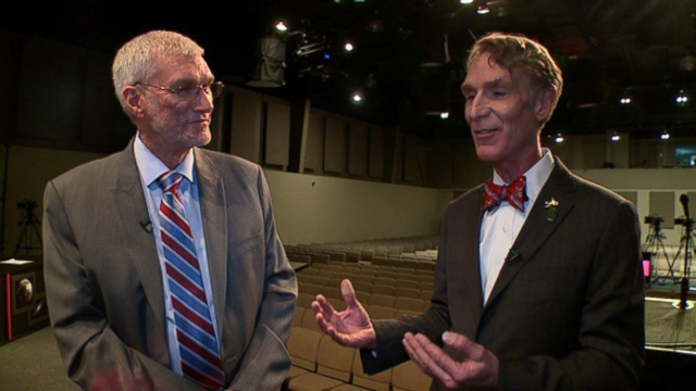VIDEO: Bill Nye The Science Guy faces off against founder of Kentuckys Creation Museum.