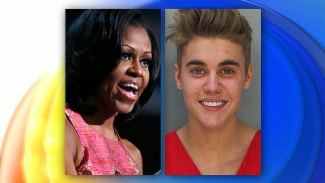VIDEO: Michelle Obama Addresses the Wild Times of Justin Bieber