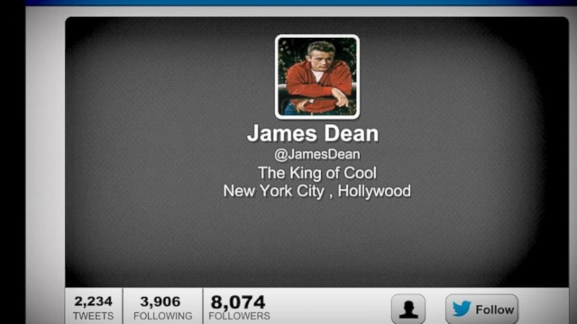 VIDEO: James Deans Estate Sues Twitter Over Unofficial Account