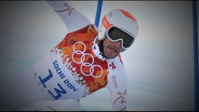 VIDEO: Skier discusses his emotional Super-G performance that scored him a bronze medal.