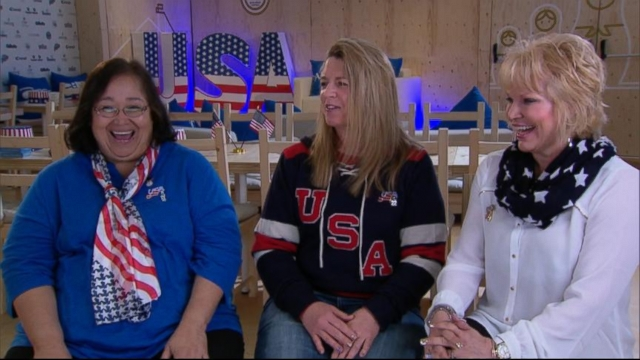 VIDEO: Amy Robach talks to the women behind the talented hockey players.