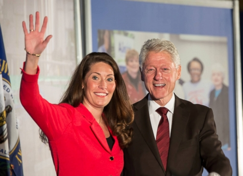 VIDEO: Campaigner-in-Chief Bill Clinton Pulls Out Southern Charm in Kentucky Senate Race