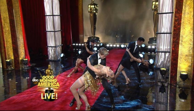 VIDEO: Ginger Zee Wows in Oscar-Worthy Dance With Derek Hough
