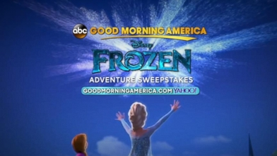 VIDEO: Enter the Frozen Adventure Sweepstakes!