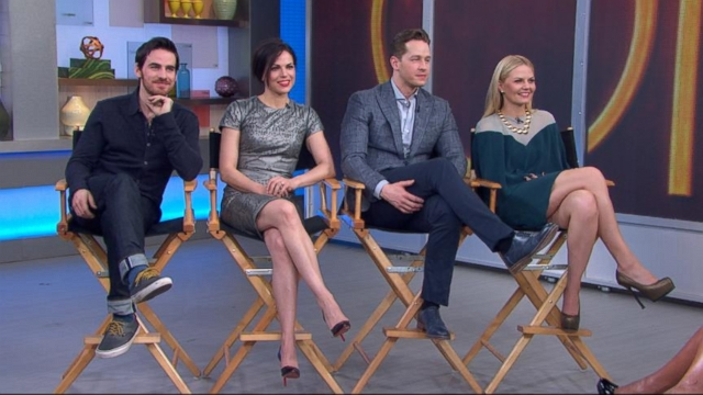 Video: One Upon a Time Cast in Times Square
