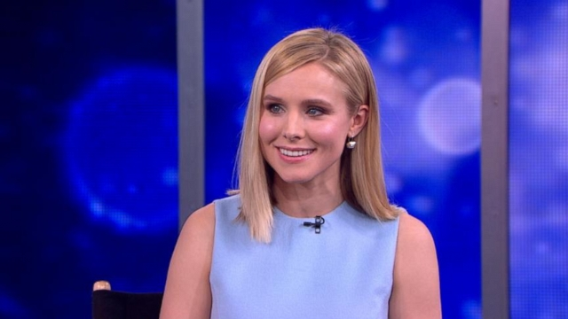 "VIDEO: The actress talks about crowd funding with Kickstarter to get the ""Veronica Mars"" movie made."