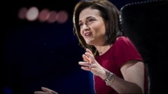 VIDEO: Facebook's COO Sheryl Sandberg leads the campaign that believes the word holds women back.