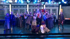 VIDEO: 'Les Mis' Cast Performs 'One Day More' in Times Square