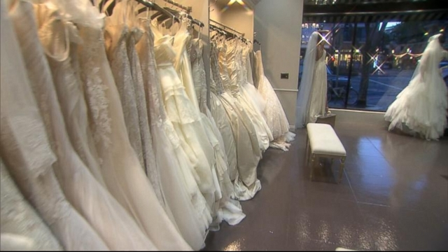 VIDEO: Knock-Off Wedding Gown Sites Get Sued