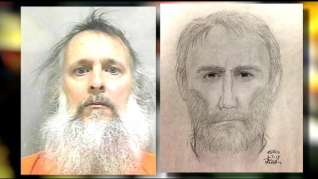 VIDEO: Man Held on Weapons Charges Resembles Wanted Serial Killer