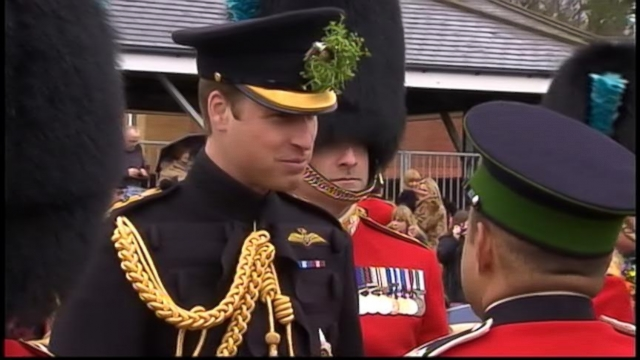 VIDEO: Prince William Celebrates St. Patricks Day