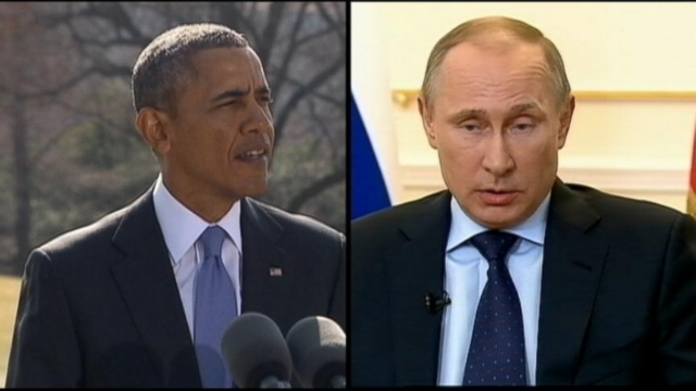 VIDEO: Russia Banned From G-8 Summit