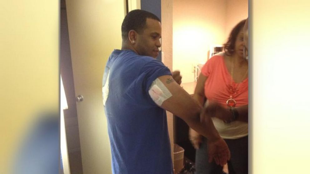 VIDEO: Family Reunites with Fort Hood Shooting Victim