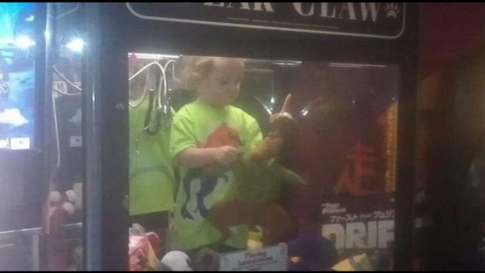 VIDEO: Boy Found in Claw Machine