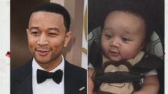 VIDEO: John Legend Finds His Child Doppelganger