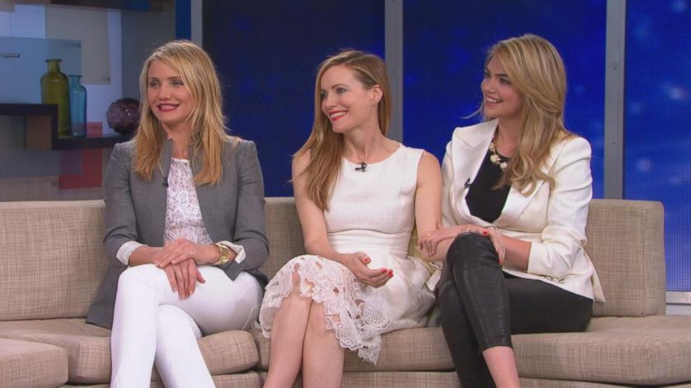 VIDEO: Cameron Diaz, Leslie Mann and Kate Upton discuss their new film and the bond they formed on set.