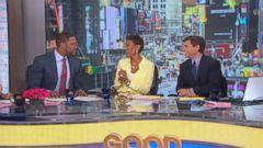 VIDEO: Robin Roberts recent visit to Late Night inspires GMA to welcome Strahan with its own list.