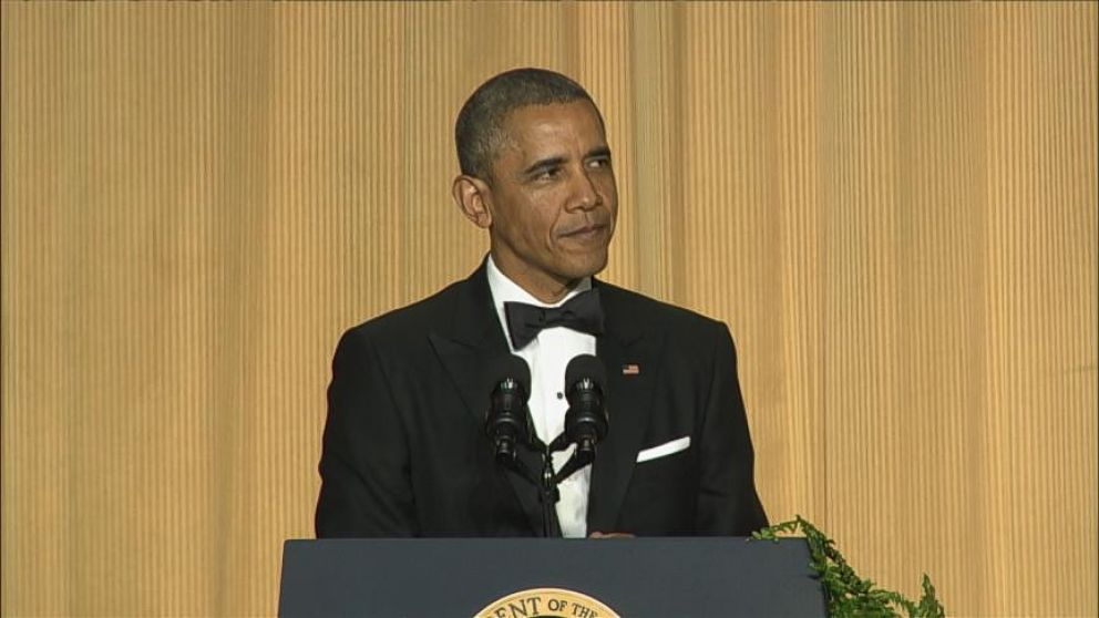 VIDEO: President Obama Offers Up Laughs at the White House Correspondents Dinner