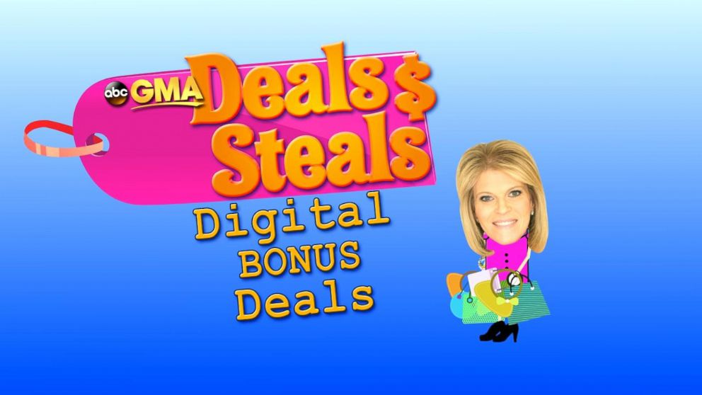 Good Morning America View Your Deal : Gma deals and steals promo codes watch the video to get