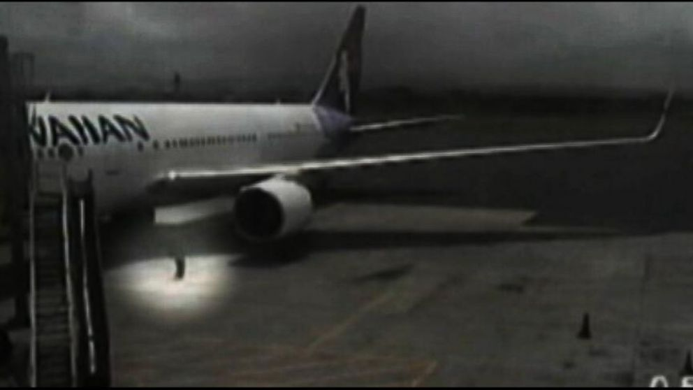 VIDEO: Surveillance Video of Teen Stowaway After Flight