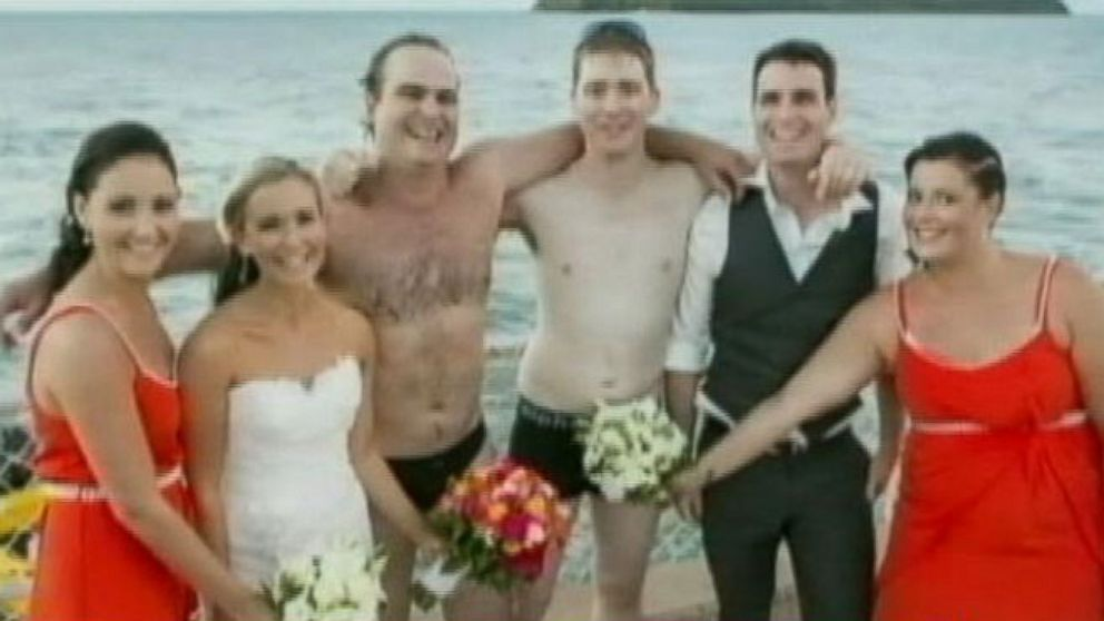 VIDEO: Groomsmen Rescue Fisherman at Sea