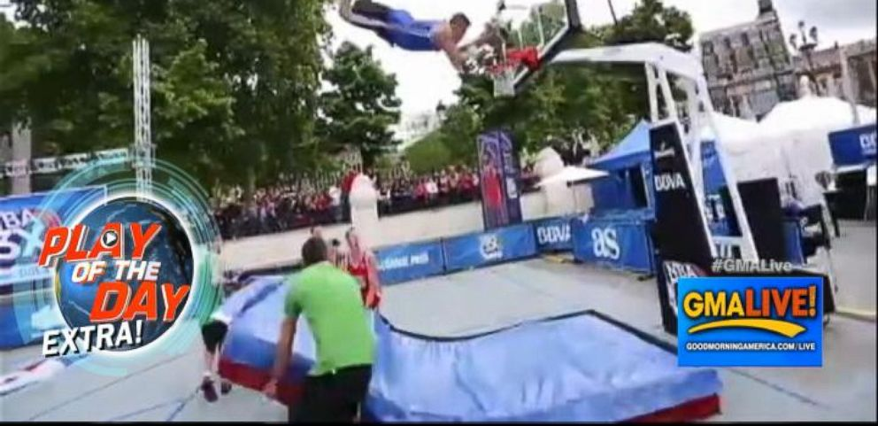 VIDEO: Backflip Slam Dunk Video Goes Viral