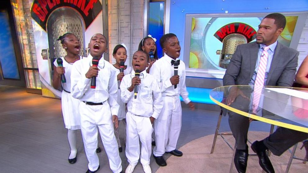 "VIDEO: The Believe Kids Group Performs Musical Skit on GMA Six kids who overcame big challenges will perform at the ""Garden of Dreams"" talent show at Radio City Music Hall."