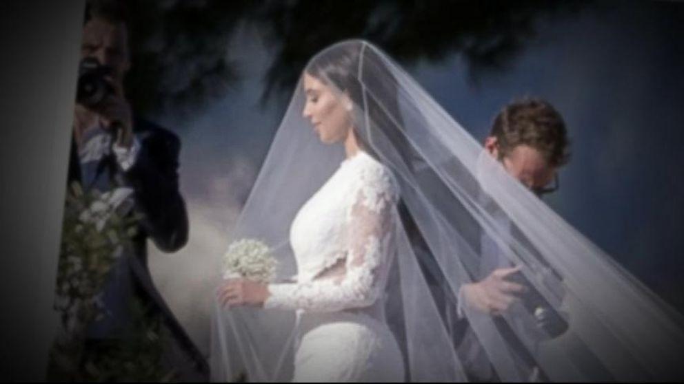 Kim Kardashian Kanye West S Italian Wedding Spectacular