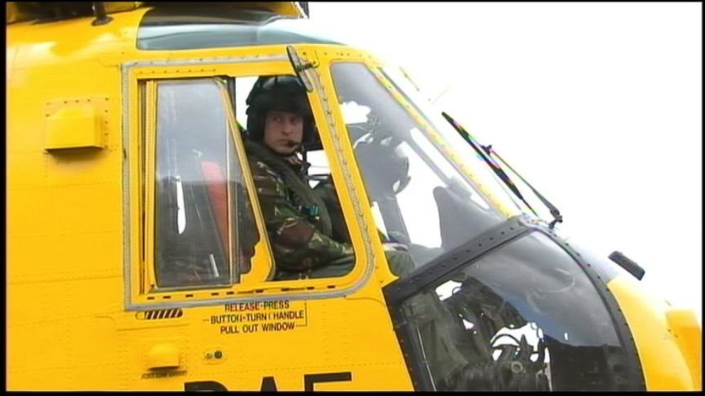 VIDEO: The restless royal plans to become an air ambulance pilot.