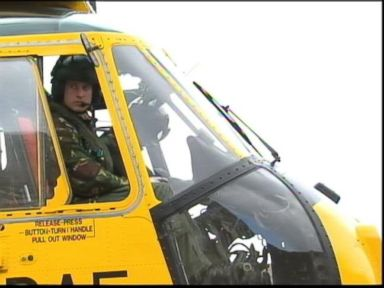 Watch: Prince William Returns to the Cockpit?
