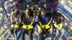 VIDEO: New Roller Coaster Debuts at Kings Island