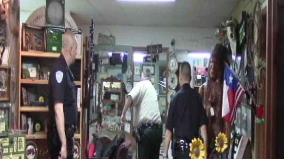 VIDEO: Deer Crash Into Antiques Store