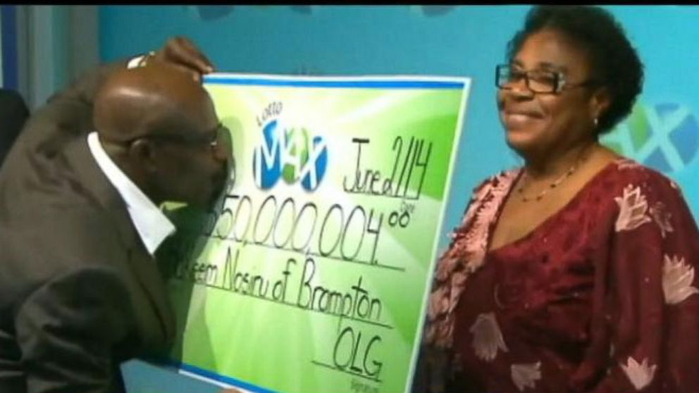 VIDEO: Couple Reunited With $50M Lotto Ticket