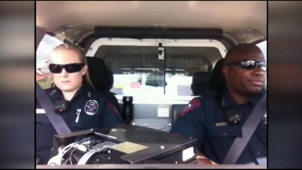 VIDEO: Two cops from Texas belted out a Katy Perry hit while driving.