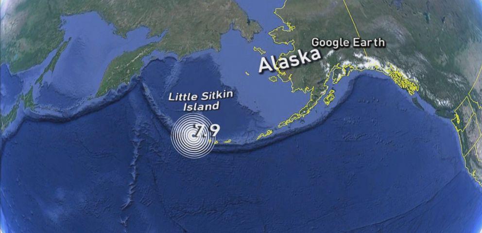 Tsunami Warning Downgraded After Earthquake Off Coast of Alaska