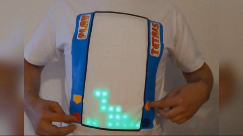 VIDEO: Playable Tetris T-Shirt Is Perfect for Throwback Thursday