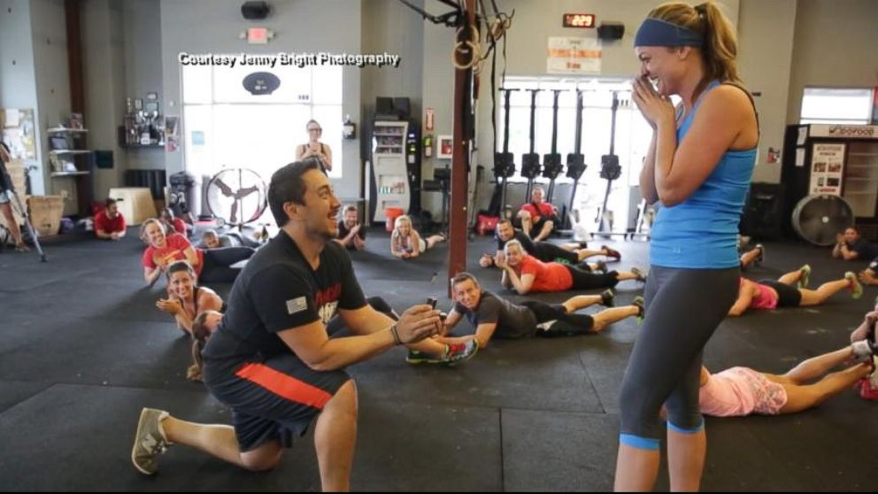 VIDEO: Intense CrossFit Marriage Proposal Goes Viral