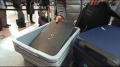 VIDEO: Airports are tightening security and using enhanced screening for electronic devices.